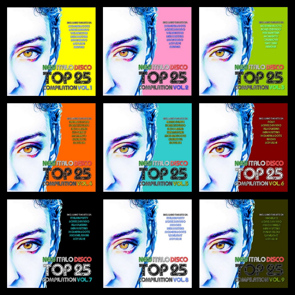 New Italo Disco Top 25 Compilation Vol. 9 available now